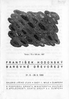 František Hodonský: Barevné dřevořezy