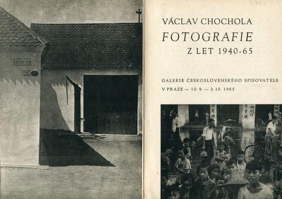 Václav Chochola: Fotografie z let 1940 - 65