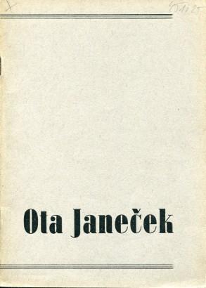 Ota Janeček: Kresby, kvaše 1943 - 45