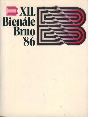XII. bienále užité grafiky Brno 1986