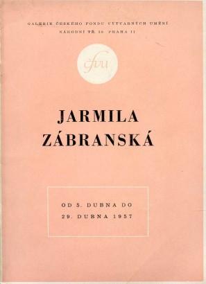 Jarmila Zábranská: Nové obrazy 1955 - 1956