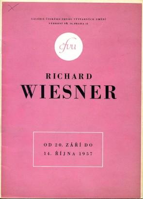 Richard Wiesner: Práce z posledních let