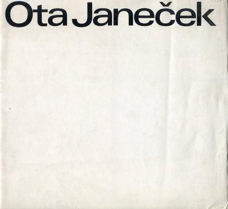 Ota Janeček: Práce z let 1962 - 1966
