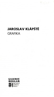 Jaroslav Klápště: Grafika