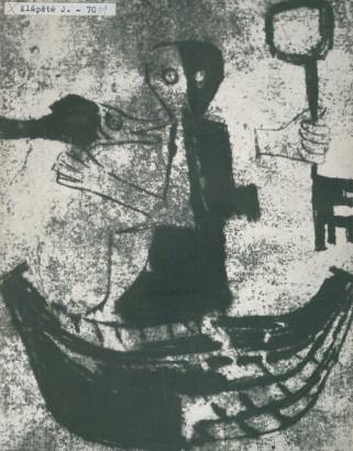 Jaroslav Klápště: Obrazy - grafika