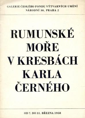 Karel Černý: Rumunské moře v kresbách