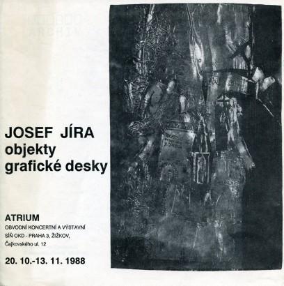 Josef Jíra: Objekty, grafické desky