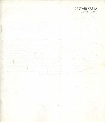 Čestmír Kafka: Spojování a asambláže