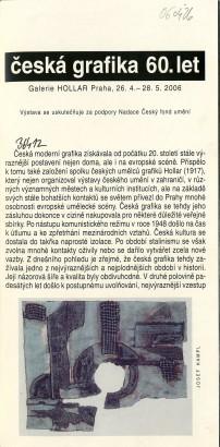 Česká grafika 60. let
