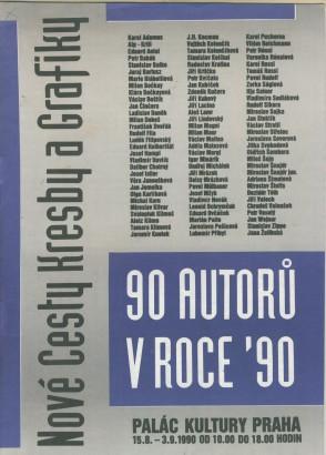90 autorů v roce ´90