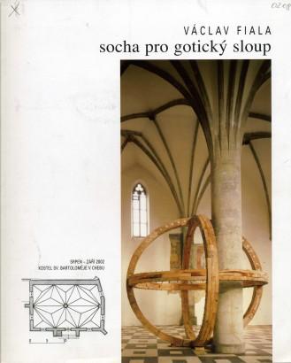 Václav Fiala: Socha pro gotický sloup