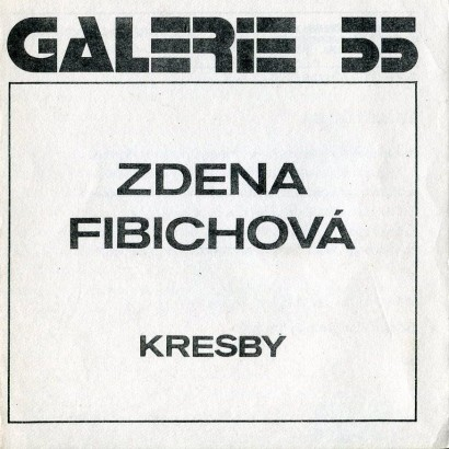 Zdena Fibichová: Kresby