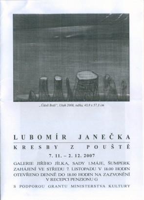 Lubomír Janečka: Kresby z pouště
