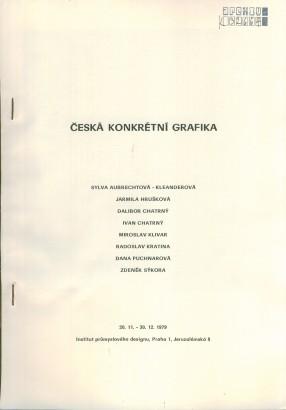 Česká konkrétní grafika