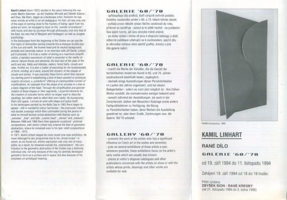 Kamil Linhart: Rané dílo