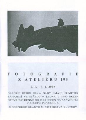 Fotografie z ateliéru 193