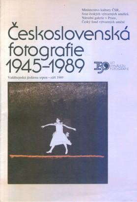 Československá fotografie 1945 - 1989