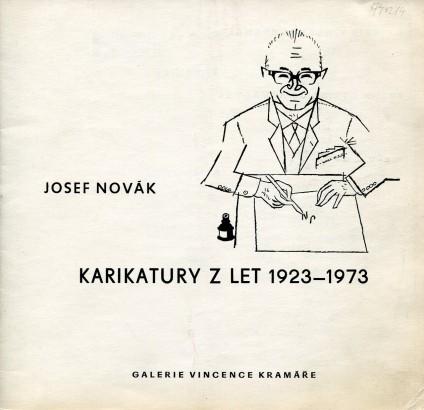 Josef Novák: Karikatury z let 1923 - 1973