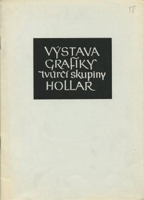 Výstava grafiky tvůrčí skupiny Hollar