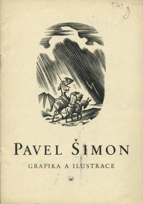 Pavel Šimon: Grafika a ilustrace