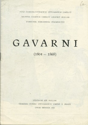 Gavarni (1804 - 1968)