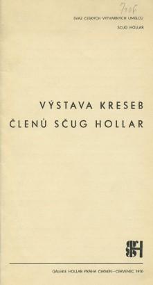 Výstava kreseb členů SČUG Hollar