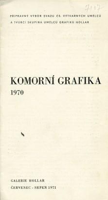 Komorní grafika 1970