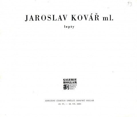 Jaroslav Kovář ml.: Lepty
