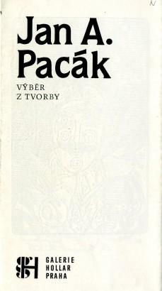 Jan A. Pacák: Výběr z tvorby