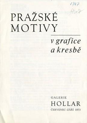 Pražské motivy v grafice a kresbě