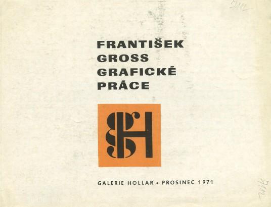 František Gross: Grafická práce