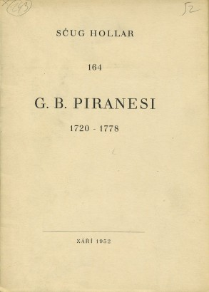 G. B. Piranesi 1720-1778