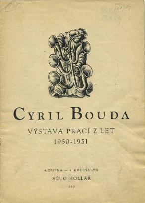 Cyril Bouda: Výstava prací z let 1950-1951