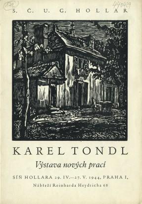 Karel Tondl: Výstava nových prací