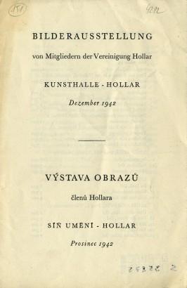Výstava obrazů členů Hollara