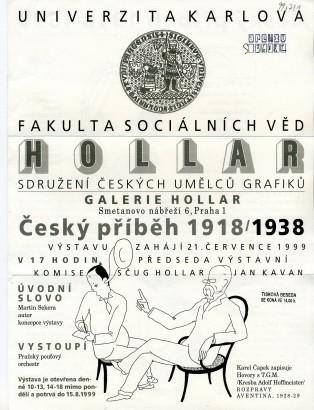 Český příběh 1918/1938