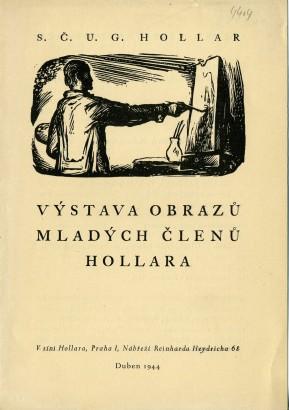 Výstava obrazů mladých členů Hollara