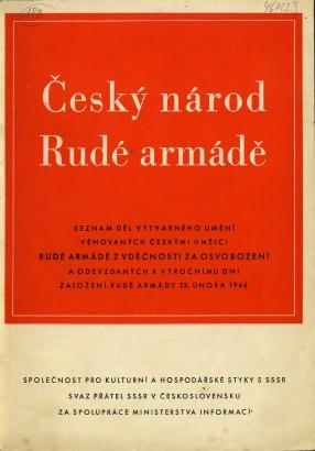 Český národ Rudé armádě