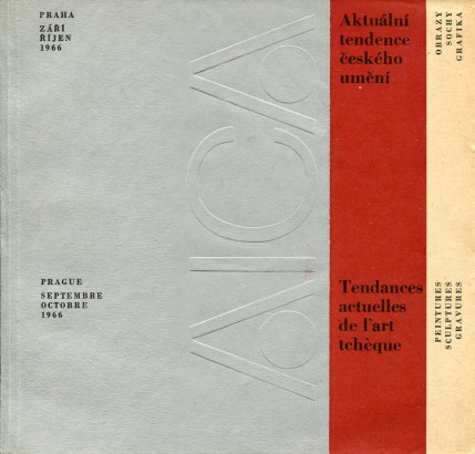 Aktuální tendence českého umění / Tendances actuelles de l'art tchèque