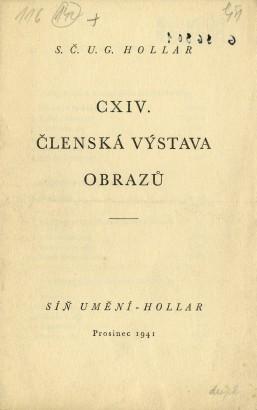SČUG Hollar: Členská výstava obrazů