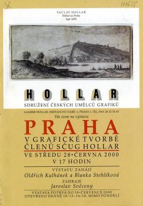 Praha v grafické tvorbě členů SČUG Hollar