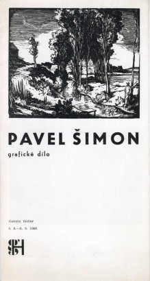 Pavel Šimon: Grafické dílo
