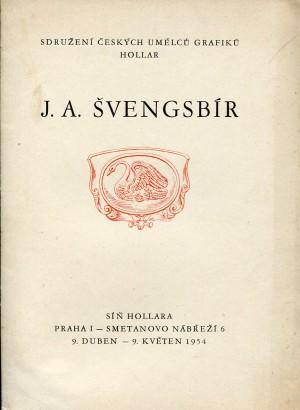 J. A. Švengsbír: Grafika, kresby, akvarely, známková tvorba