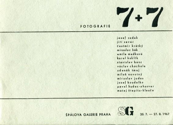 7 + 7: Fotografie