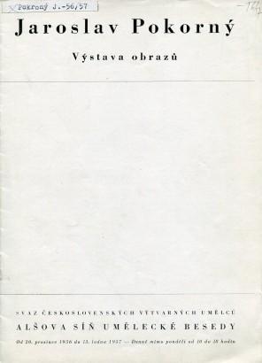 Jaroslav Pokorný: Výstava obrazů