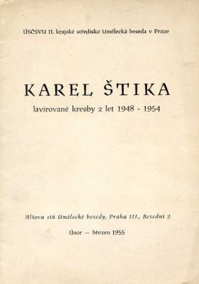 Karel Štika: Lavírované kresby z let 1948-1954