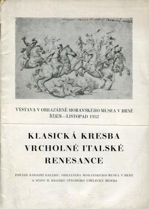 Klasická kresba vrcholné italské renesance