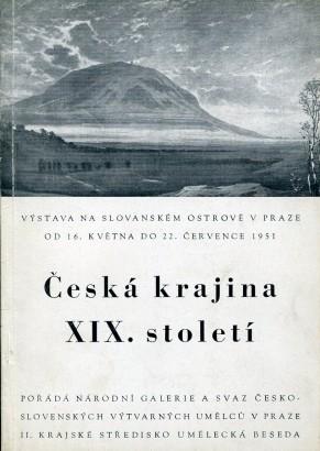 Česká krajina XIX. století