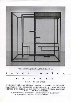 Pavel Hošek: Objekty
