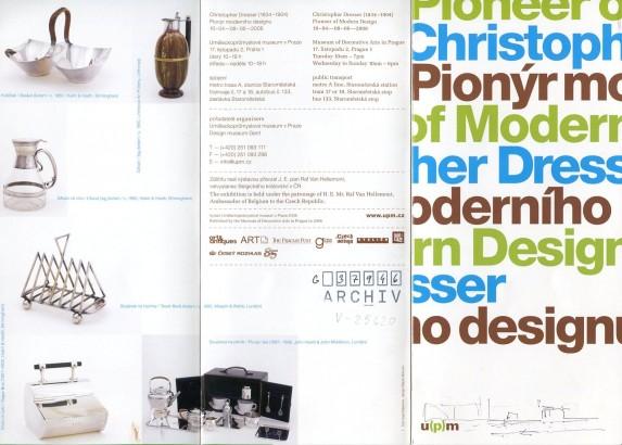 Christopher Dresser: Pionýr moderního designu / Pioneer of Modern Design